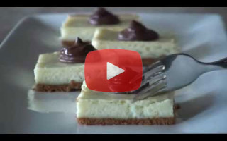 Easy Cheesecake Nutella Bars